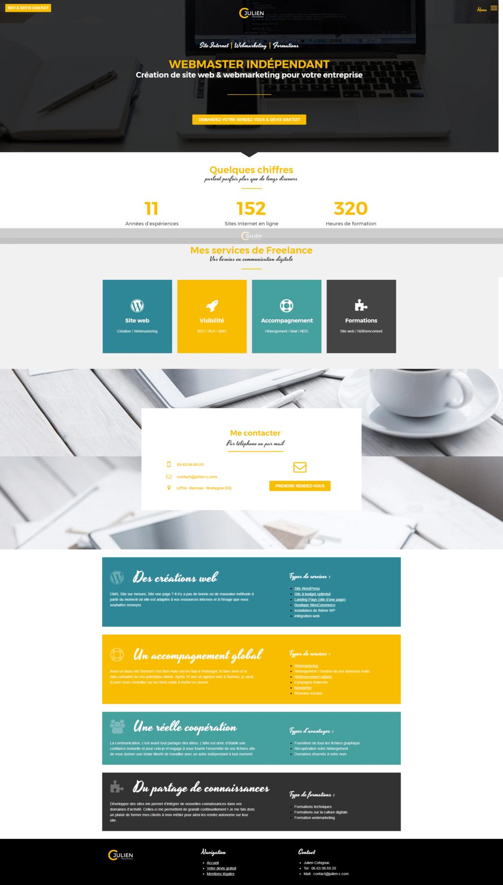 eba0465b23a Webmaster freelance Rennes - Création de site Internet en Bretagne