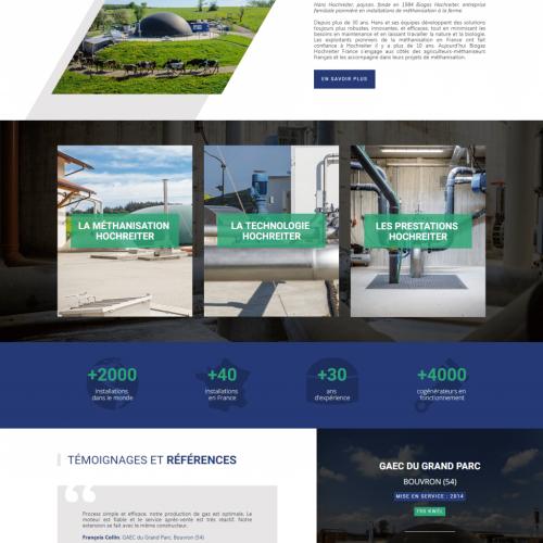 Biogaz Hochreiter Constructeur d unités de méthanisation agricole